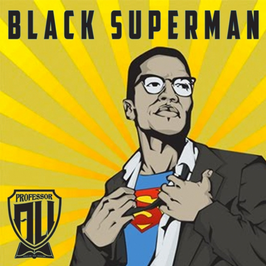 Black Superman cover art  by Jibola Fagbamiye