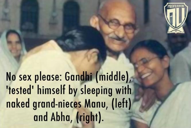 Gandhi Pedophile