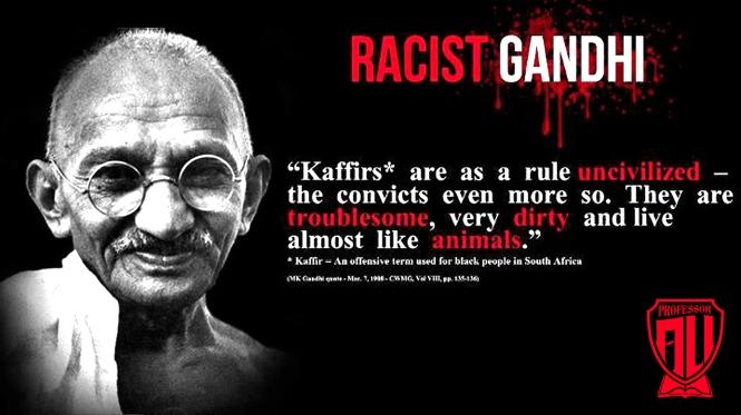 Racist Gandhi